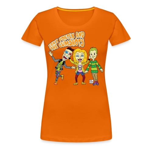 CartoonTee2017 - Women's Premium T-Shirt