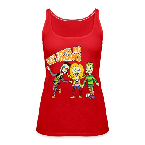 CartoonTee2017 - Women's Premium Tank Top