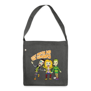 CartoonTee2017 - Shoulder Bag made from recycled material