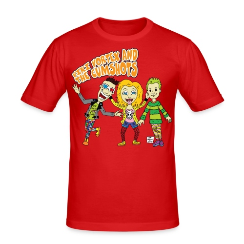 CartoonTee2017 - Men's Slim Fit T-Shirt