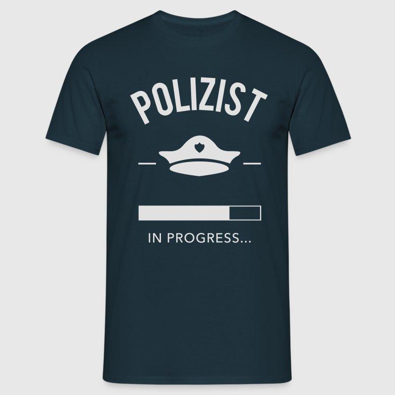 Polizist in progress - Männer T-Shirt