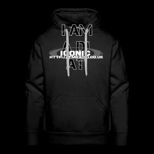 I Am a DJ at Iconic Men T-shirt - Men's Premium Hoodie