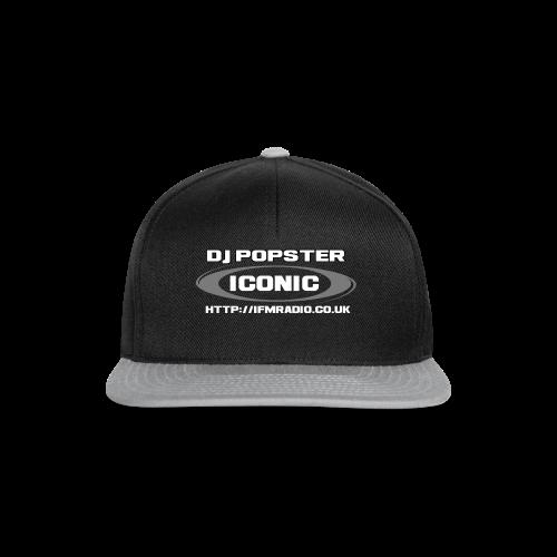 Iconic's Own DJ Popster - Snapback Cap
