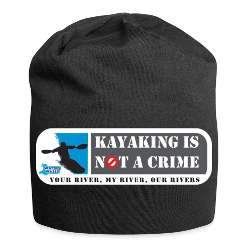 Kayaking is not a crime - Jersey Beanie