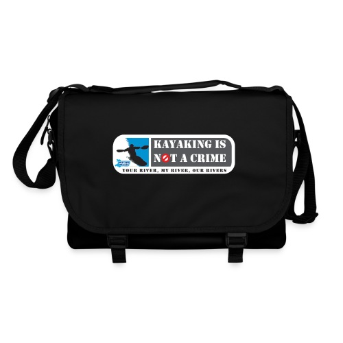 Kayaking is not a crime - Shoulder Bag