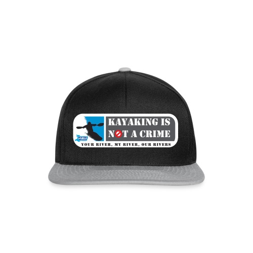 Kayaking is not a crime - Snapback Cap