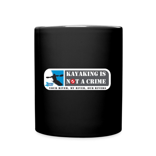 Kayaking is not a crime - Full Colour Mug