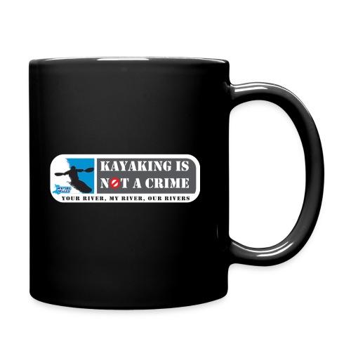 Kayaking is not a crime - Full Colour Mug