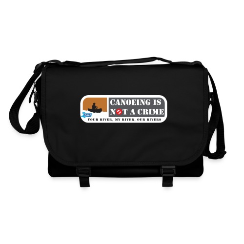 Canoeing is not a crime - Shoulder Bag