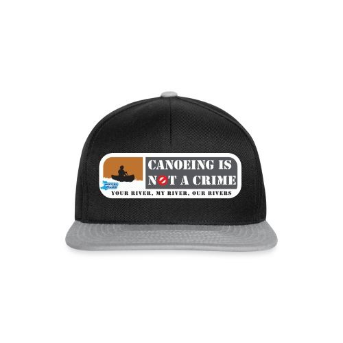 Canoeing is not a crime - Snapback Cap