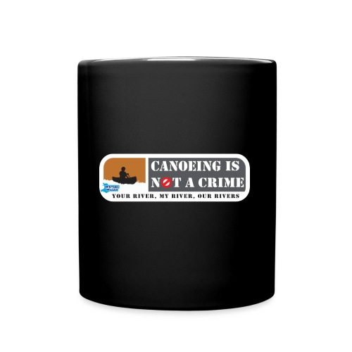 Canoeing is not a crime - Full Colour Mug