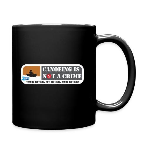 Canoeing is not a crime - Full Colour Mug