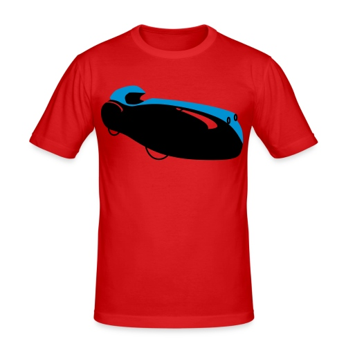 Quattrovelo - Männer Slim Fit T-Shirt