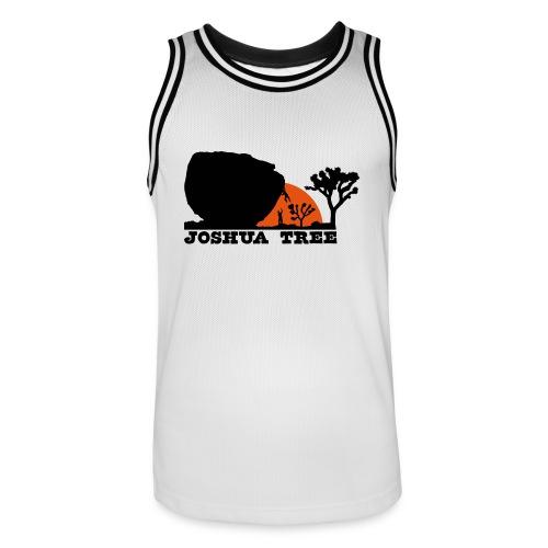 Bouldern in Joshua Tree - Männer Basketball-Trikot