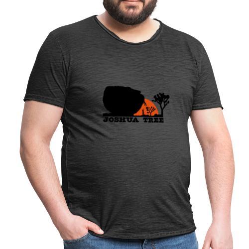 Bouldern in Joshua Tree - Männer Vintage T-Shirt