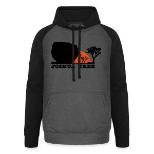 Bouldern in Joshua Tree - Unisex Baseball Hoodie
