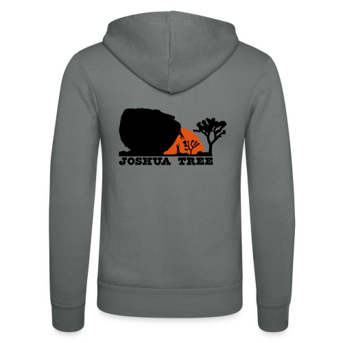 Bouldern in Joshua Tree - Unisex Kapuzenjacke von Bella + Canvas