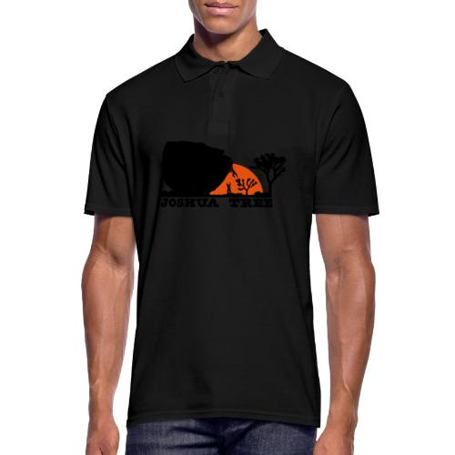Bouldern in Joshua Tree - Männer Poloshirt