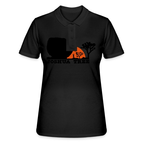 Bouldern in Joshua Tree - Frauen Polo Shirt