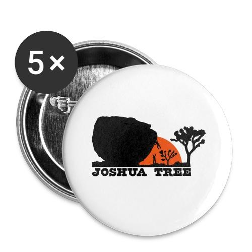 Bouldern in Joshua Tree - Buttons klein 25 mm