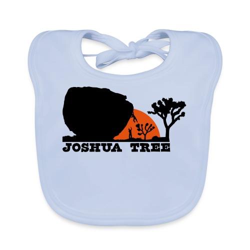 Bouldern in Joshua Tree - Baby Bio-Lätzchen