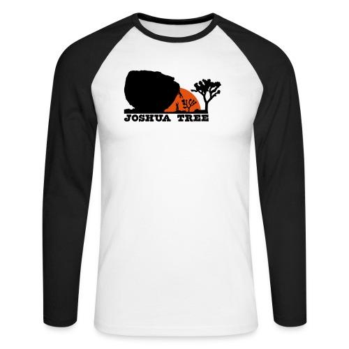 Bouldern in Joshua Tree - Männer Baseballshirt langarm