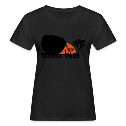 Bouldern in Joshua Tree - Frauen Bio-T-Shirt