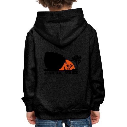 Bouldern in Joshua Tree - Kinder Premium Hoodie