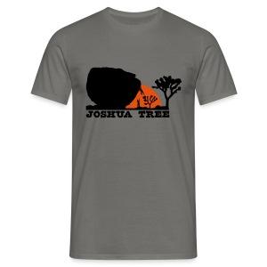 Bouldern in Joshua Tree - Männer T-Shirt