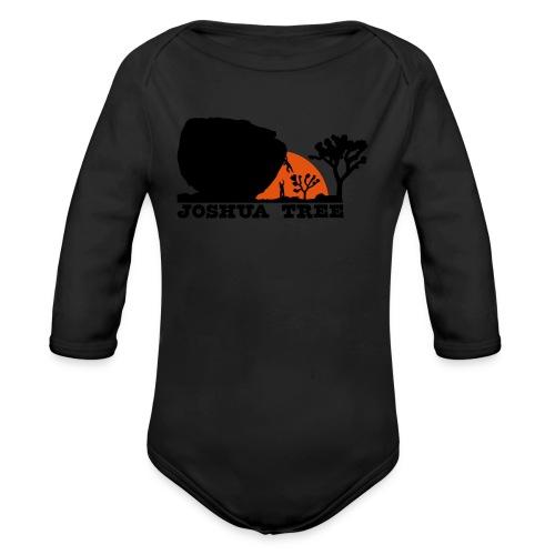 Bouldern in Joshua Tree - Baby Bio-Langarm-Body