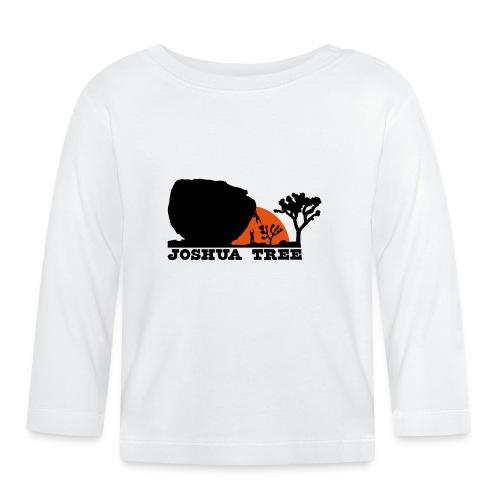 Bouldern in Joshua Tree - Baby Langarmshirt