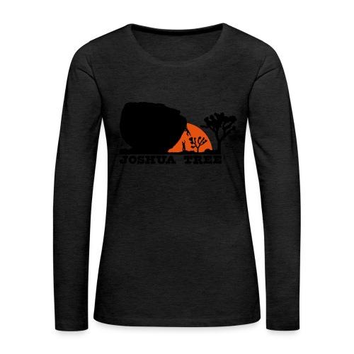 Bouldern in Joshua Tree - Frauen Premium Langarmshirt