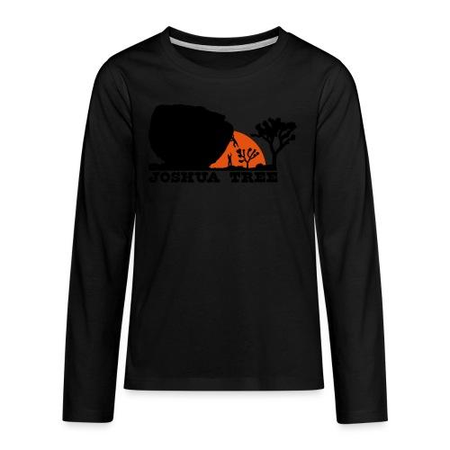 Bouldern in Joshua Tree - Teenager Premium Langarmshirt