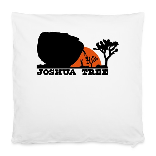 Bouldern in Joshua Tree - Kissenbezug 40 x 40 cm