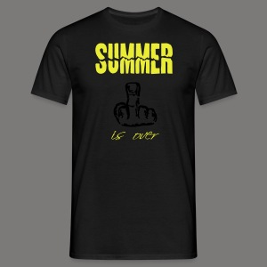 Summer is over - Männer T-Shirt