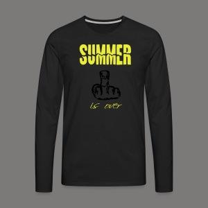 Summer is over - Männer Premium Langarmshirt