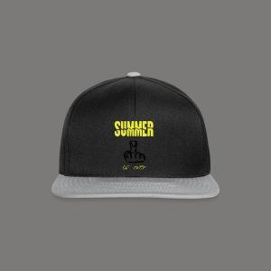 Summer is over - Snapback Cap