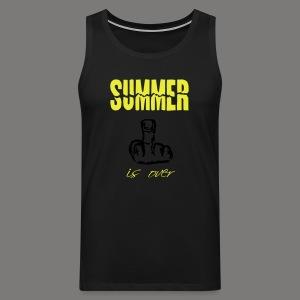Summer is over - Männer Premium Tank Top