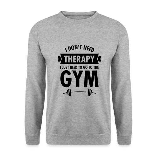 Camista chico - Gym therapy - Sudadera hombre
