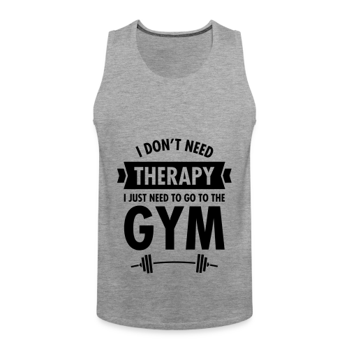 Camista chico - Gym therapy - Tank top premium hombre