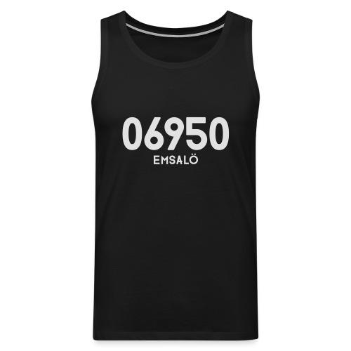 06950 EMSALÖ - Miesten premium hihaton paita