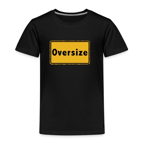 Oversize - Kinder Premium T-Shirt