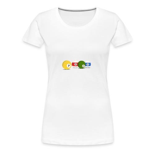 T-Shirt Polo - T-shirt Premium Femme