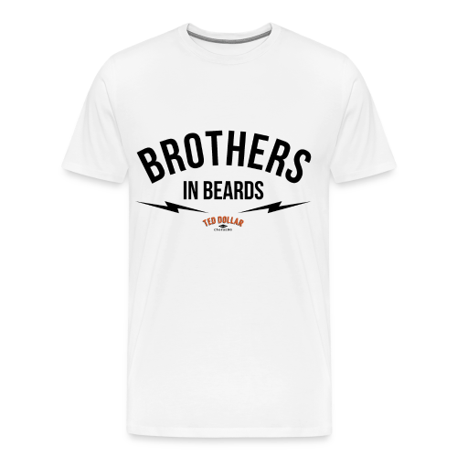 Brothers In Beards - T-shirt Premium Homme