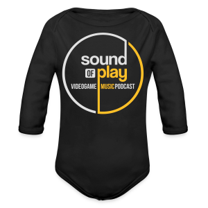 Sound of Play Graphite Grey - Longsleeve Baby Bodysuit