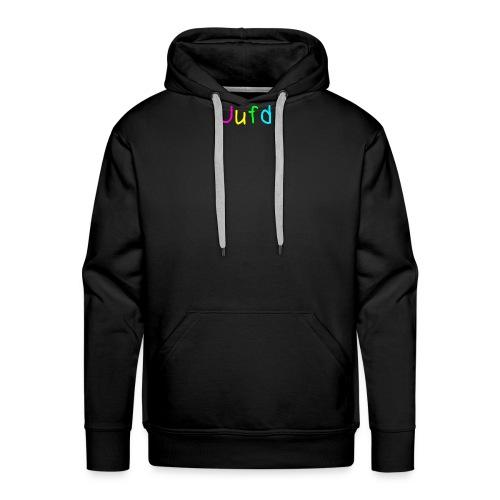 geschreven uufd  - Mannen Premium hoodie