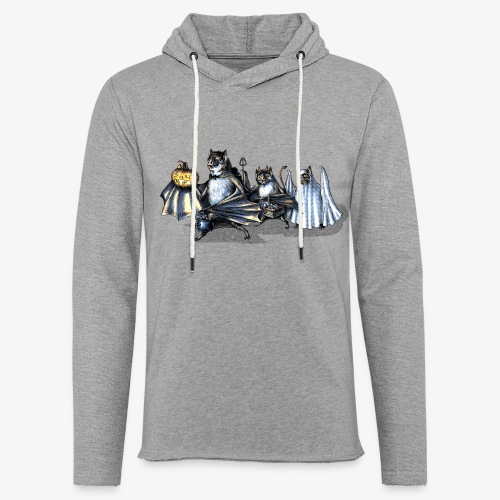 vampire bat trickortreat - Light Unisex Sweatshirt Hoodie