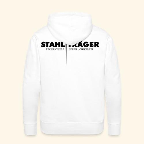 Stahlträger Shirt Baumwolle - Männer Premium Hoodie