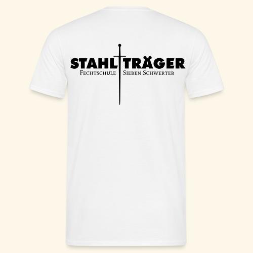 Stahlträger Shirt Baumwolle - Männer T-Shirt