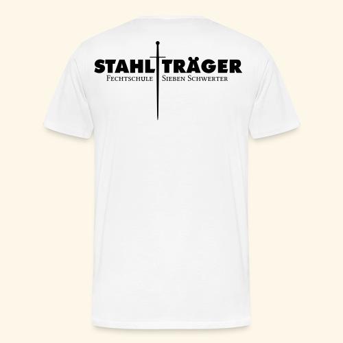 Stahlträger Shirt Baumwolle - Männer Premium T-Shirt